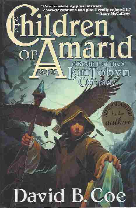 Image for Set-Lon Tobyn Chronicle (3 Volume Trilogy) (Signed) Children of Amarid (1) , the Outlanders (2) , Eagle-Sage (3)