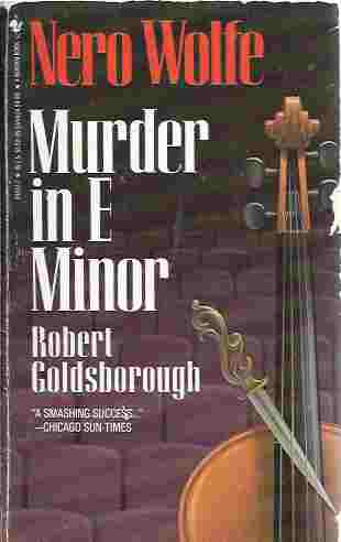 Murder in E Minor, Goldsborough, Robert