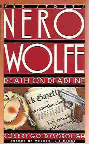 Image for Death on Deadline (Nero Wolfe)