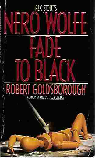 Image for Fade to Black: A Nero Wolfe Mystery
