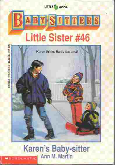 Image for Karen's Baby-Sitter (The Baby-Sitters Club Series: Little Sister #46)