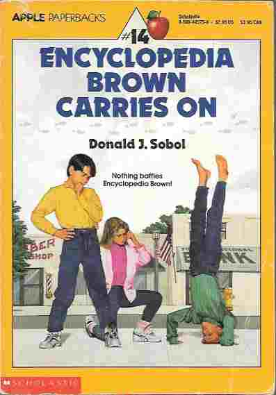 Image for Encyclopedia Brown Carries On