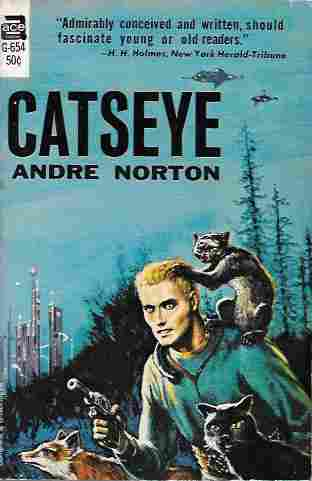 Image for Catseye (Ace G-654)
