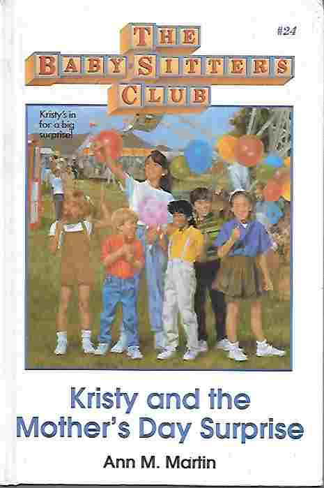 Image for Kristy and the Mother's Day Surprise [Large Print] (The Baby-Sitters Club Series #24)