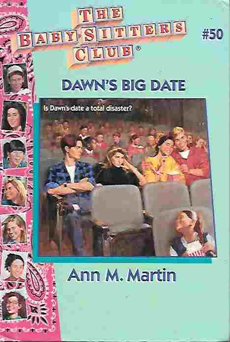 Image for Dawn's Big Date [Large Print] (Baby-Sitters Club #50)