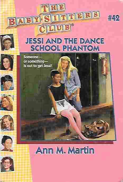 Image for Jessi and the Dance School Phantom [Large Print] (Baby-Sitters Club #42)
