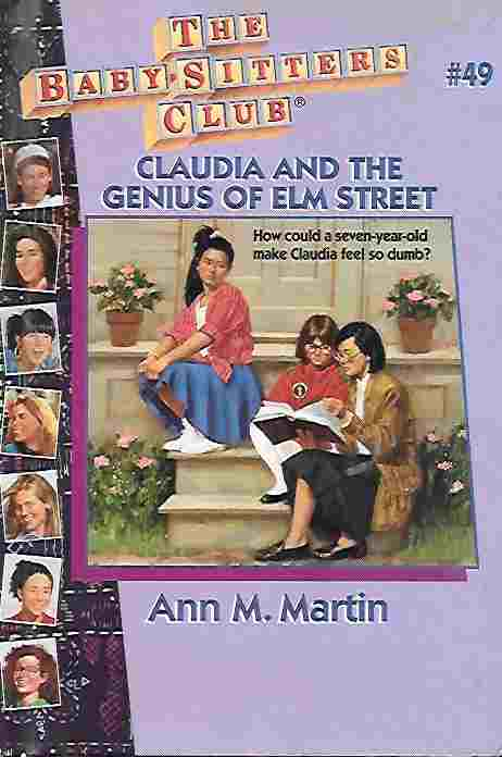 Image for Claudia and the Genius of Elm Street [Large Print] (Baby-Sitters Club #49)
