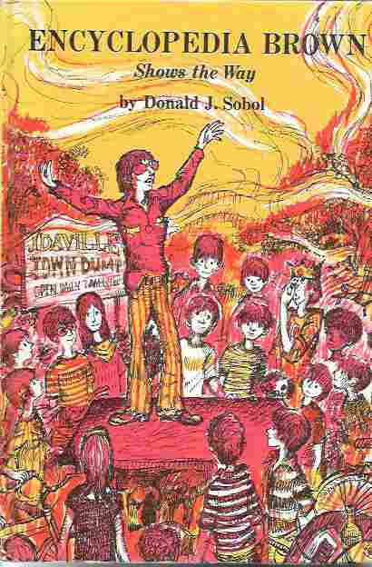 Image for Encyclopedia Brown Shows the Way (#9)